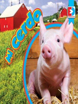 cover image of Mi cerdo