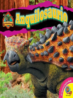 cover image of Anquilosaurio