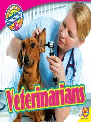 cover image of Veterinarians