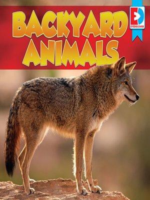 cover image of Backyard Animals