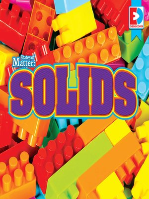 cover image of States of Matter: Solids