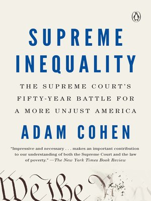 cover image of Supreme Inequality