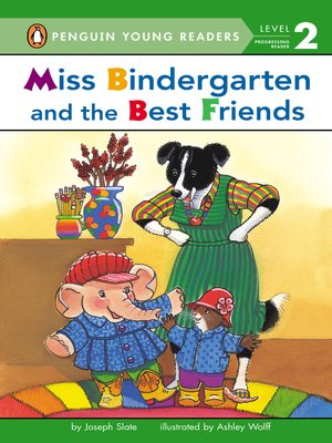 cover image of Miss Bindergarten and the Best Friends