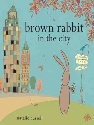 cover image of Brown Rabbit in the City