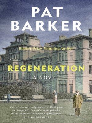 regeneration book pat barker ebook