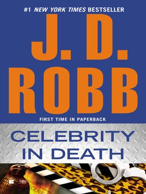 cover image of Celebrity in Death