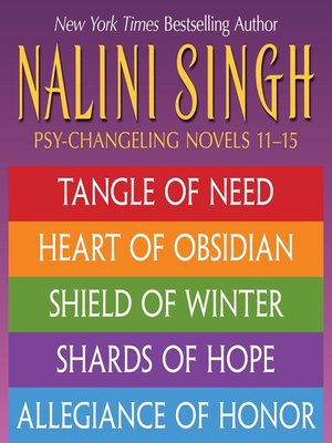 cover image of Tangle of Need; Heart of Obsidian; Shield of Winter; Shards of Hope; Allegiance of Honor