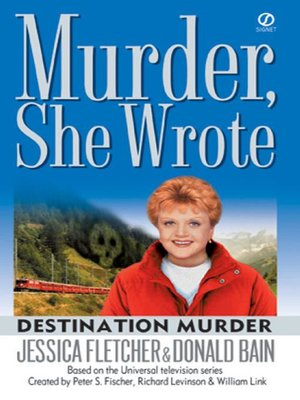 cover image of Destination Murder