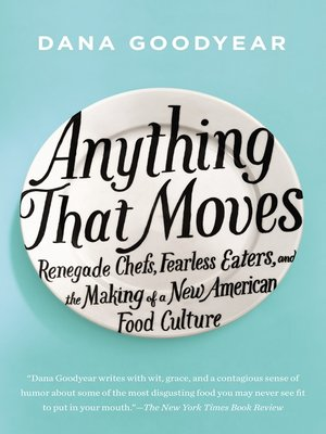 cover image of Anything That Moves