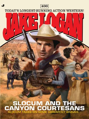 cover image of Slocum and the Canyon Courtesans