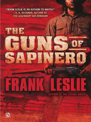 cover image of The Guns of Sapinero