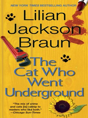 cover image of The Cat Who Went Underground