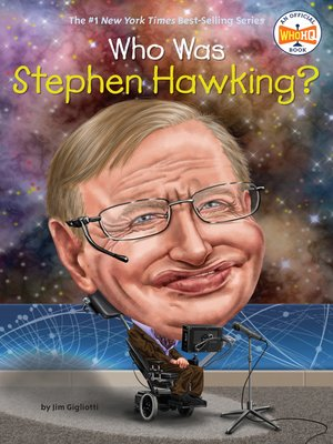 cover image of Who Was Stephen Hawking?
