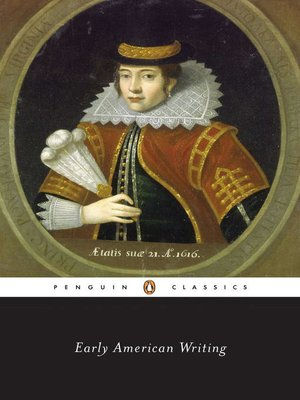 cover image of Early American Writing