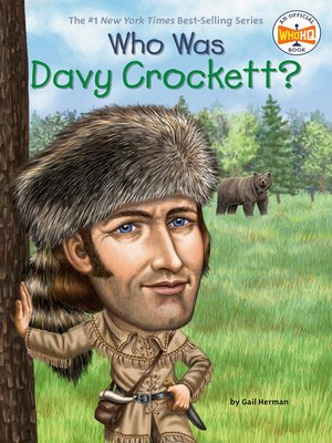 cover image of Who Was Davy Crockett?