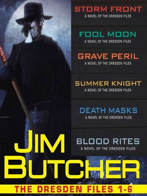 cover image of The Dresden Files Collection 1-6