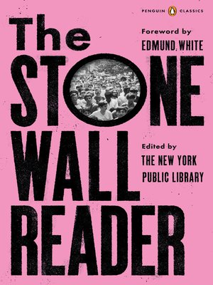cover image of The Stonewall Reader
