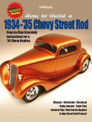 cover image of How to Build 1934-35 Chevy St RodsHP1514