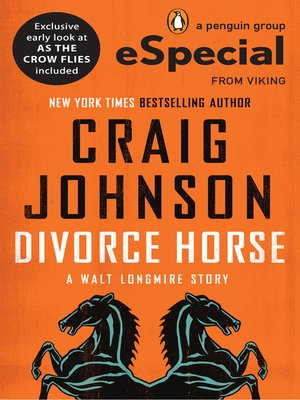 cover image of The Divorce Horse