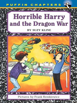 cover image of Horrible Harry and the Dragon War