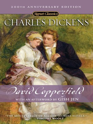 cover image of David Copperfield