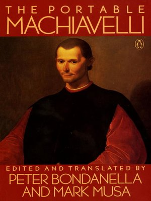 cover image of The Portable Machiavelli