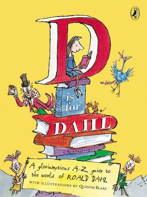 cover image of D is for Dahl
