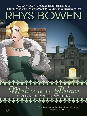cover image of Malice at the Palace