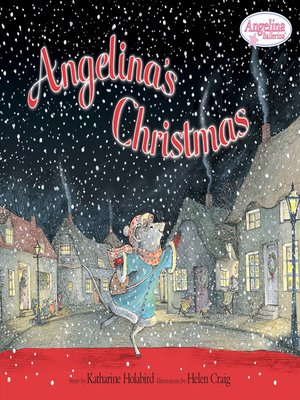 cover image of Angelina's Christmas