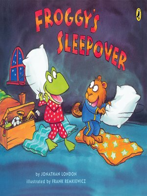 cover image of Froggy's Sleepover