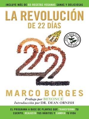 cover image of La revolución de 22 días