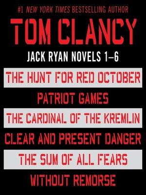 Jack Ryan, Books 1-6 by Tom Clancy · OverDrive (Rakuten