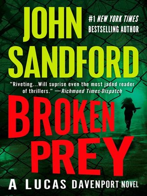 cover image of Broken Prey