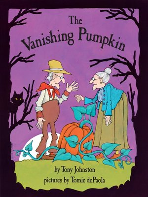 cover image of The Vanishing Pumpkin