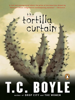 cover image of The Tortilla Curtain