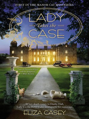 cover image of Lady Takes the Case