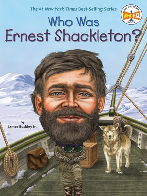 cover image of Who Was Ernest Shackleton?