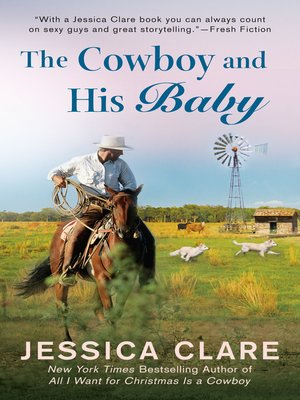 cover image of The Cowboy and His Baby
