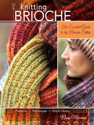 cover image of Knitting Brioche