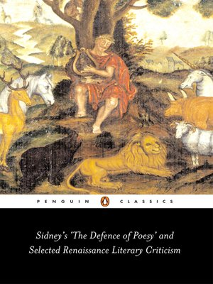 cover image of Sidney's The Defence of Poesy' and Selected Renaissance Literary Criticism