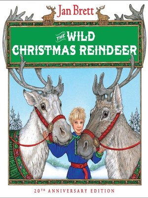cover image of The Wild Christmas Reindeer