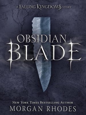 cover image of Obsidian Blade