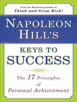 cover image of Napoleon Hill's Keys to Success