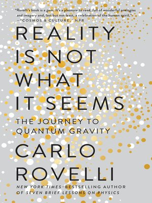 cover image of Reality Is Not What It Seems