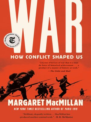 cover image of War--How Conflict Shaped Us