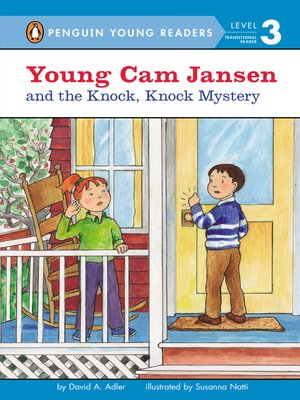 cover image of Young Cam Jansen and the Knock, Knock Mystery