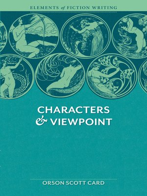 cover image of Elements of Fiction Writing--Characters & Viewpoint