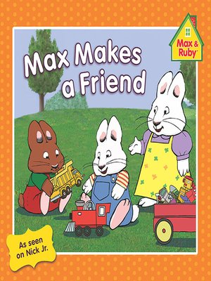 cover image of Max Makes a Friend