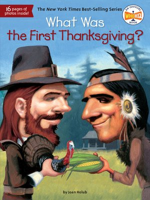 cover image of What Was the First Thanksgiving?