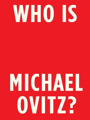 cover image of Who Is Michael Ovitz?